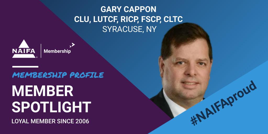 Loyal Member Profile: Gary Cappon