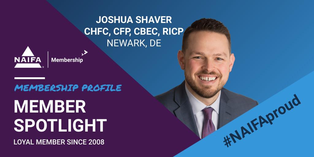 Loyal Member Profile-Joshua Shaver
