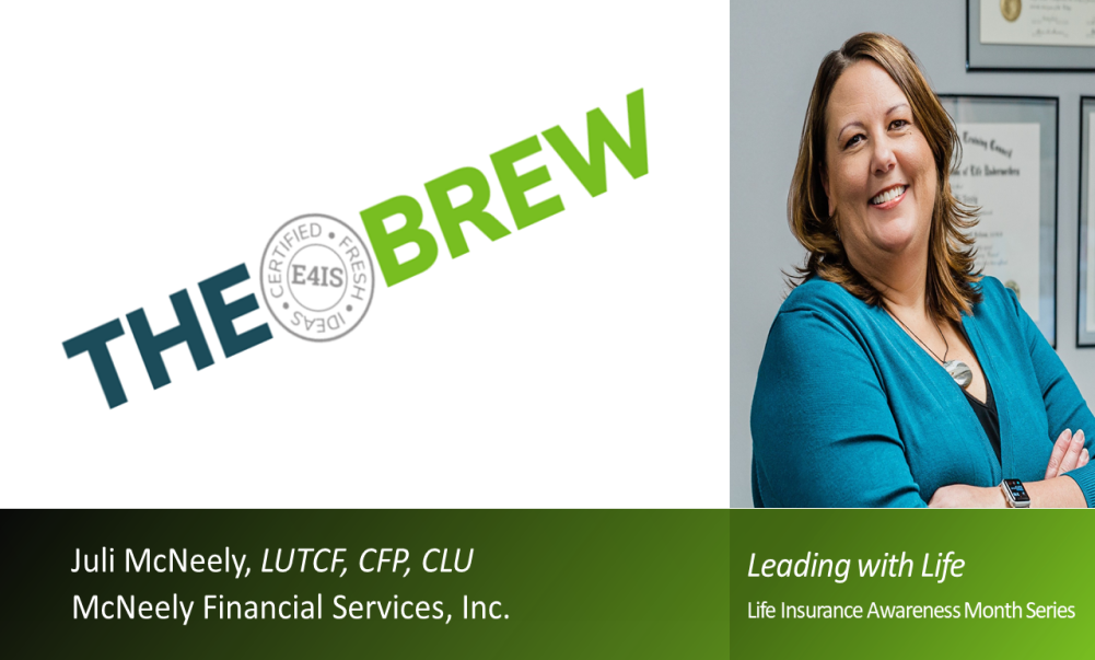 Juli McNeely is featured on the BREW on September 1 for LIAM