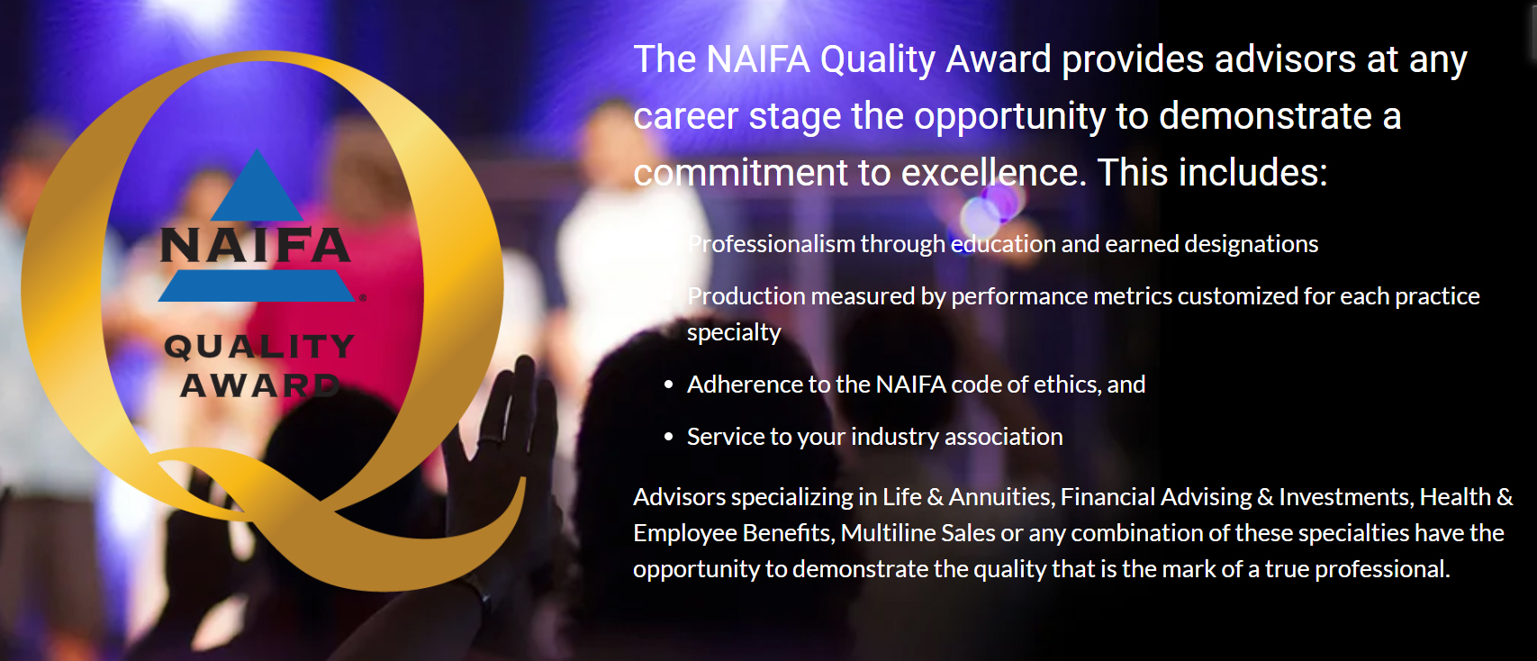 NAIFA Quality Awards