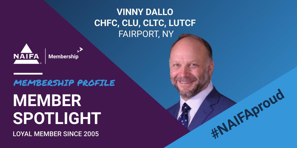 NAIFA Loyal Member Profile: Vinny Dallo