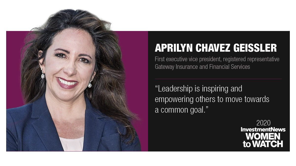 Aprilyn Chavez Geissler Named InvestmentNews Woman to Watch