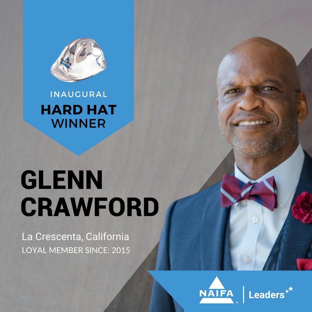 Glen Crawford Hard Hat Winner