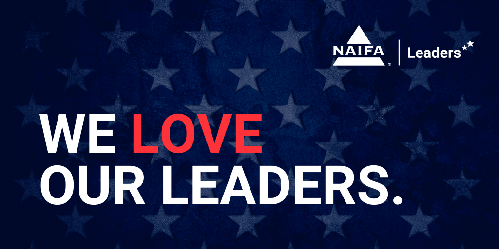 We love our leaders.